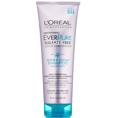 LOreal Everpure SulfateFree Repair  Defend Shampoo Damaged