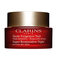 Clarins Super Restorative Night For Very Dry Skin 1.6oz / 50ml