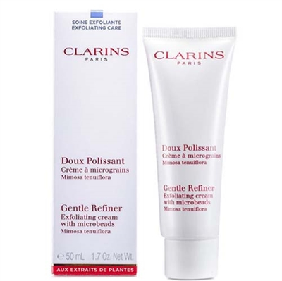 Clarins Gentle Refiner Exfoliating Cream with Microbeads All Skin Type 1.7oz