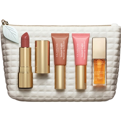 Clarins Luscious Lips Collection 4 Piece Set