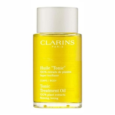 Clarins Tonic Body Treatment Oil All Skin Type 3.3 oz / 100 ml