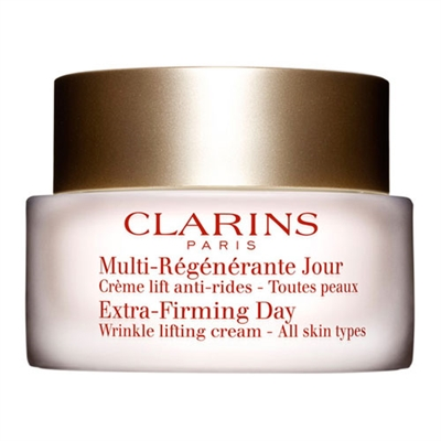 Clarins Multi-Regenerante Jour Extra-Firming Day Wrinkle Lifting Cream All Skin Types 1.7oz / 50ml