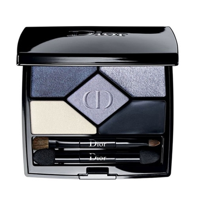 Christian Dior 5 Couleurs Designer All-In-One Professional Eye Palette 208 Navy Design 0.20oz / 5.7g