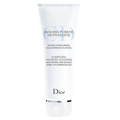Christian Dior Purifying Foaming Cleanser With Crystal Iris Extract 125ml / 4.5 oz