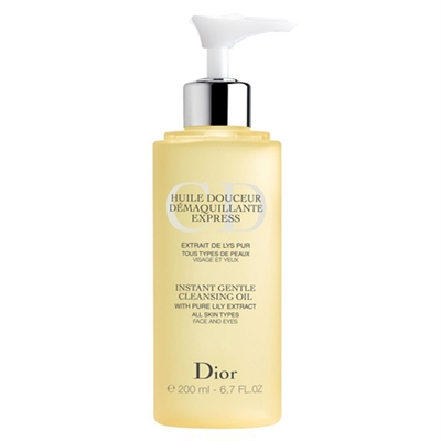 Christian Dior Instant Gentle Cleansing Oil All Skin Types 200ml / 6.7 oz