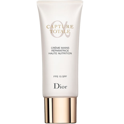 Christian Dior Capture Totale Nurturing Hand Repair Creme SPF15 2.6oz / 75ml