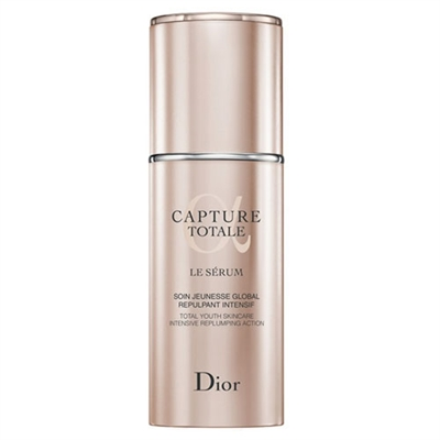 Christian Dior Capture Totale Le Serum Total Youth Skincare Intensive Replumping Action 1oz / 30ml