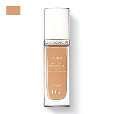 Christian Dior Diorskin Nude Skin Glowing Makeup SPF 15 040 Honey Beige
