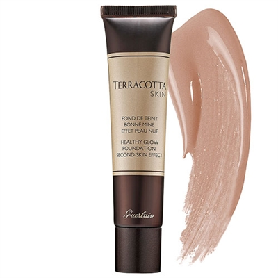 Guerlain Terracotta Skin Healthy Glow Foundation 1.0 oz / 30ml Brunettes 02
