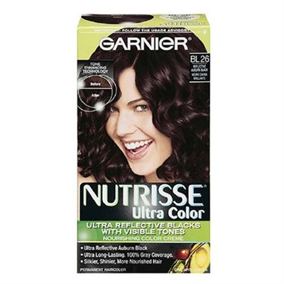 Garnier Nutrisse Ultra Color Bl26 Reflective Auburn Black 1 Lication