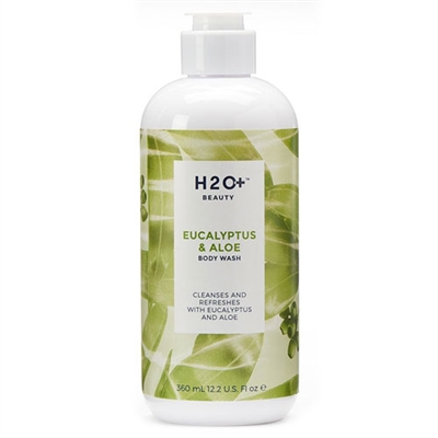 H2O Plus Eucalyptus & Aloe Body Wash 12.2oz / 360ml