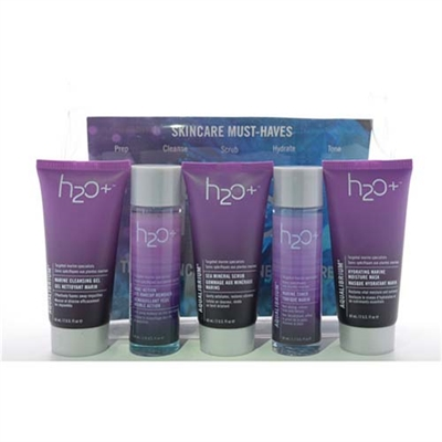 H2O Plus Skincare Must Haves 5 Piece Travel Set