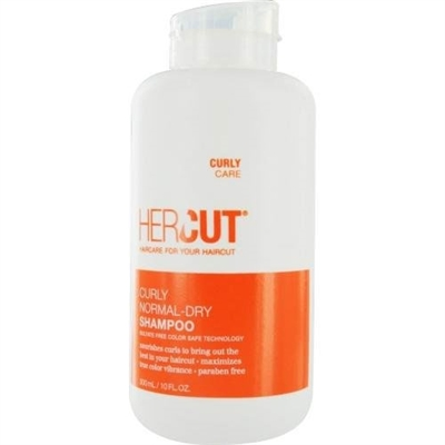 Hercut Curly Normal Dry Shampoo Sulfate Free Color Safe Technology 10.0 oz / 300ml