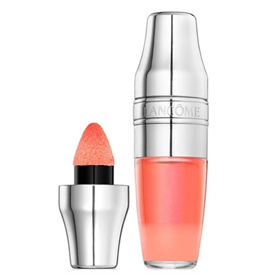 Lancome Juicy Shaker Pigment Infused Bi-Phase Lip Oil 142 Freedom Of Peach 0.22oz / 6.5ml