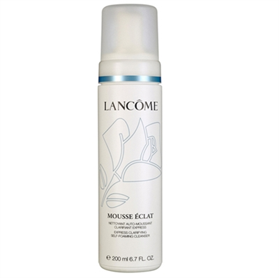 Lancome Mousse Eclat Express Clarifying Self-Foaming Cleanser 6.7oz / 200ml