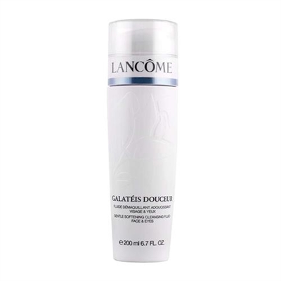 Lancome Galatee Douceur Gentle Softening Cleansing Fluid Face & Eyes 6.7 oz / 200ml