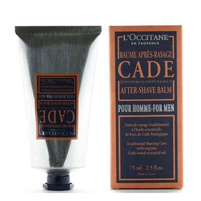 L'Occitane Cade After Shave Balm for Men 2.5 oz / 75ml