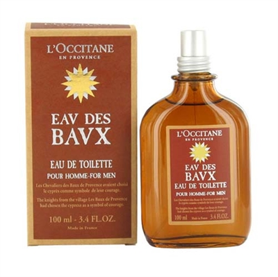 Eav Des Bavx Pour Homme by L'Occitane for Men 3.4oz Eau De Toilette Spray