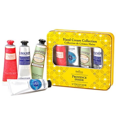 L'Occitane Provence Inside Hand Cream Collection 4 Piece Set