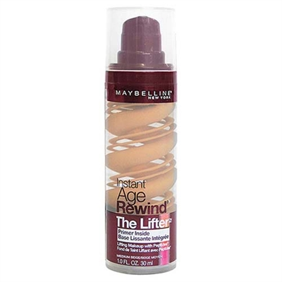 Maybelline Instant Age Rewind The Lifter Foundation Medium Beige 1.0oz / 30ml