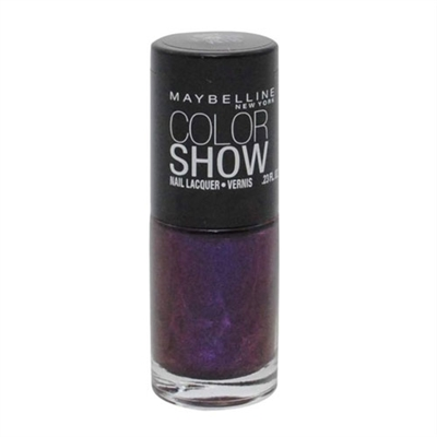 Maybelline Color Show Nail Lacquer 280 Plum Paradise 0.23oz / 7ml
