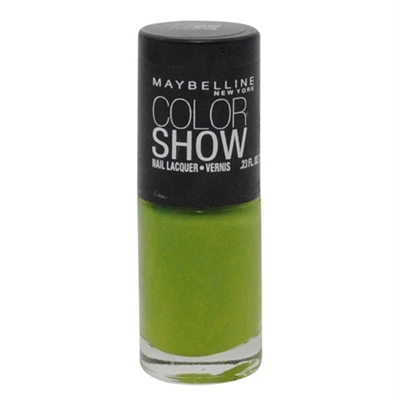 Maybelline Color Show Nail Lacquer 340 Go Go Green 0.23oz / 7ml