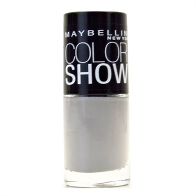 Maybelline Color Show Nail Lacquer 390 Audacious Asphalt 0.23oz / 7ml