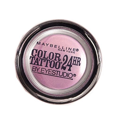 Maybelline Eyestudio Color Tattoo 24HR Eyeshadow 125 Hibiscus Heartbreak 0.14oz / 4g