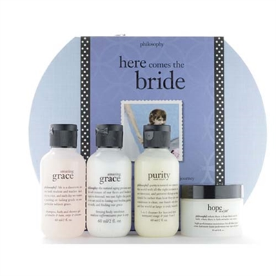 Philosophy Here Comes The Bride 4 Pieces Set