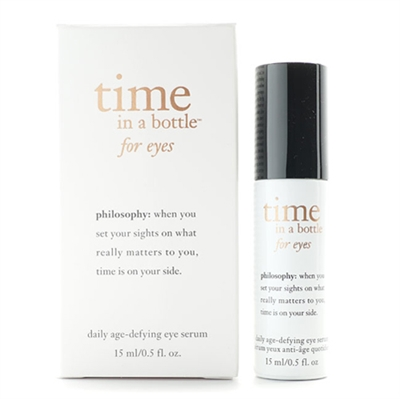 Philosophy Time In A Bottle for Eyes Daily Age Defying Eye Serum 15ml / 0.5oz