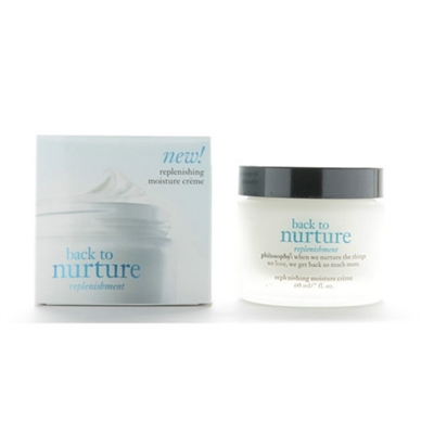 Philosophy Back To Nurture Replenishing Moisture Cream 2oz / 60ml