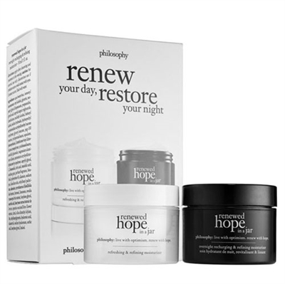 Philosophy Renew Your Day Restore Your Night Duo Set