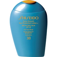 Shiseido Extra Smooth Sun Protection Cream SPF 38 3.3oz / 100ml