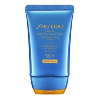 Shiseido Wetforce Ultimate Sun Protection Cream SPF 50+ 2oz / 50ml