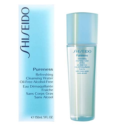 Shiseido Pureness Refreshing Cleansing Water Alcohol Free 5.0 oz / 150ml