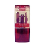 Sally Hansen La Cross Celebration Plastic Red 4 Pieces Grooming Kits
