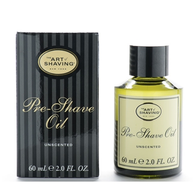 The Art Of Shaving Pre-Shave Oil Unscented 2.0oz / 60ml