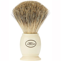 The Art Of Shaving Shaving Brush Ivory 100% Pure Badger Handcrafted