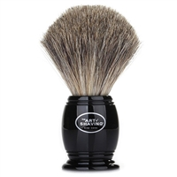 The Art Of Shaving Shaving Brush Black 100% Pure Badger Handcrafted