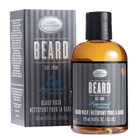 The Art of Shaving Beard Wash Peppermint Essential Oil 4.0oz / 120ml