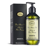 The Art of Shaving Pre-Shave Oil Unscented Essential Oil 8.1oz / 240ml