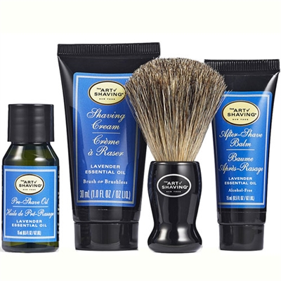 The Art of Shaving Lavender Shaving 4 Piece kit