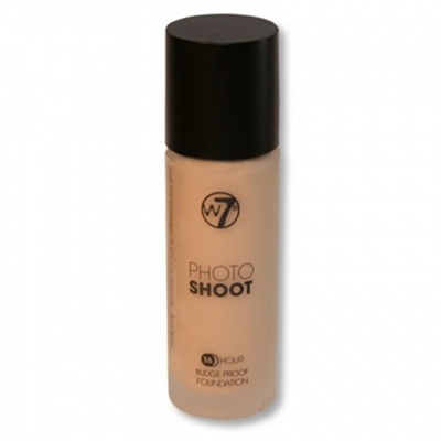 W7 Photo Shoot 16 Hour Budge Proof Foundation Sand Beige 28ml