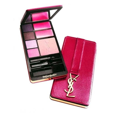 Yves Saint Laurent Very YSL Fuchsia Edition Make-Up Palette Travel Selection