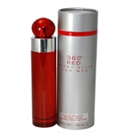 360 Red by Perry Ellis for Men 3.4 oz Eau De Toilette Spray