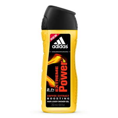 Adidas Extreme Power Hair & Body Shower Gel for Men 8.4oz