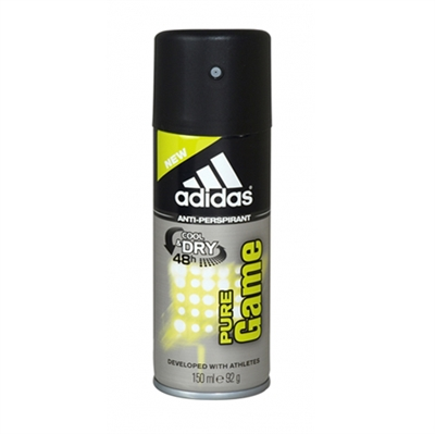 Adidas Pure Game & Dry 48hr Anti-Perspirant 150ml / 92g