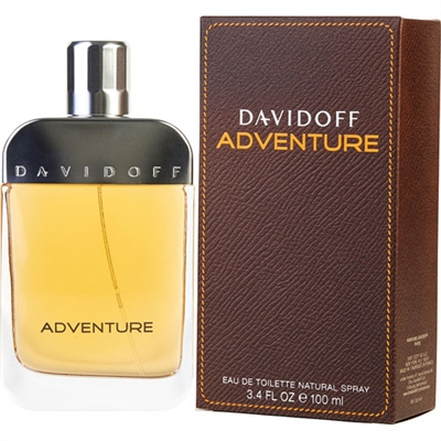 Adventure by Zino Davidoff for Men 3.4 oz Eau De Toilette Spray