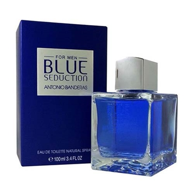 Blue Seduction by Antonio Banderas for Men 3.4 oz Eau De Toilette Spray