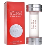 Champion Energy by Zino Davidoff for Men 3.0 oz Eau De Toilette Spray